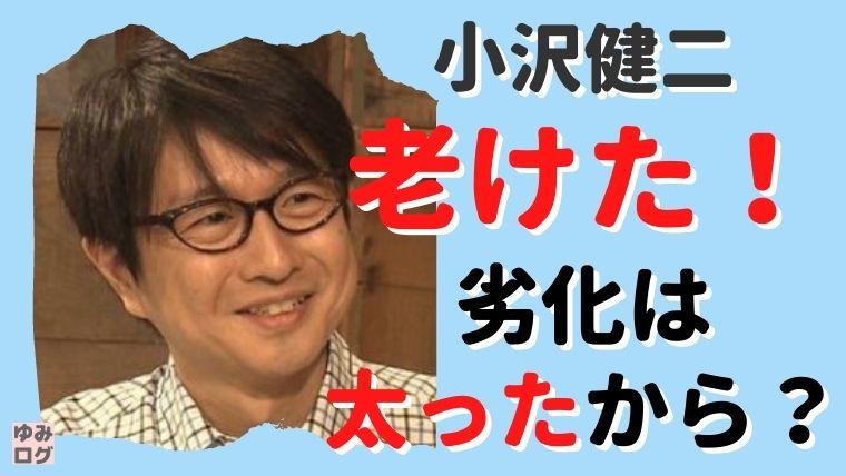 小沢健二が老けた!劣化は太ったのが原因?若い頃と現在の画像を比較!