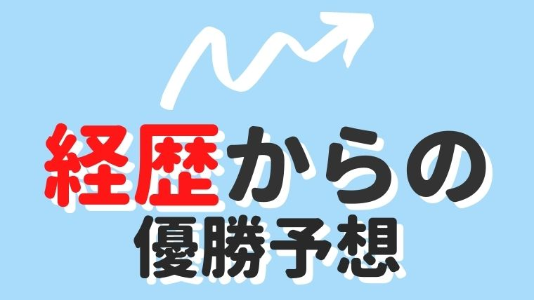 【M-1グランプリ2020】優勝予想!経歴から