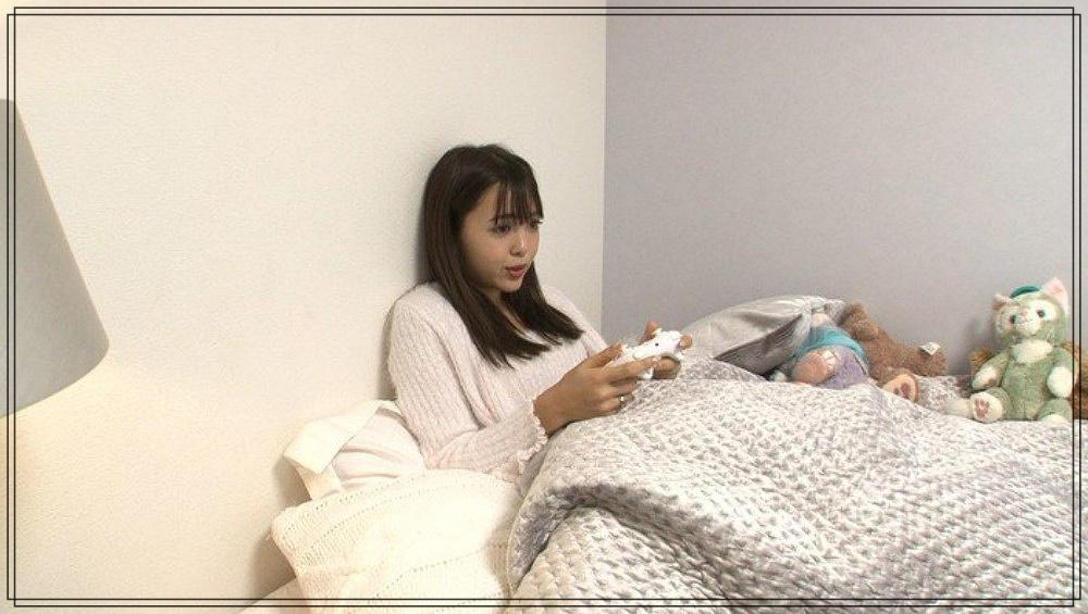 藤田ニコルの自宅マンションの寝室