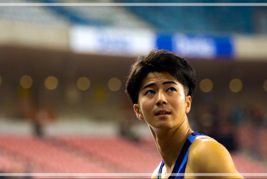 日本選手権での多田修平さん。