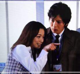 「まっすぐな男」で共演していた田中圭さんとさくらさん。